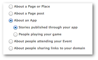 Facebook Power Editor Sponsored Story App