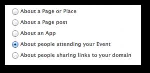 Facebook Power Editor Sponsored Story Event