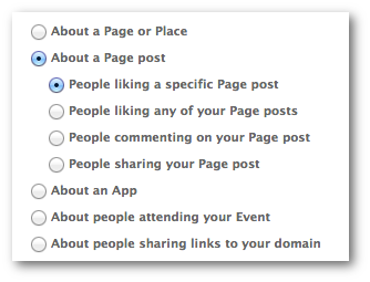Facebook Power Editor Sponsored Story Page Post