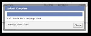 Facebook Power Editor Upload