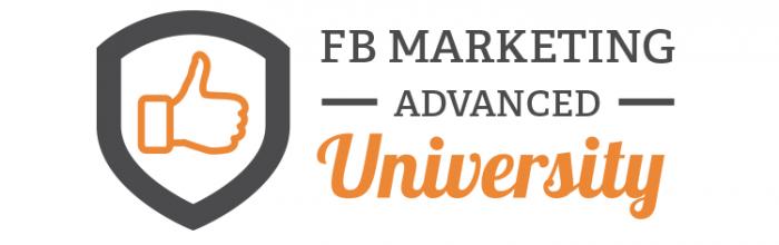 FB Marketing Advanced University