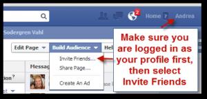 Get Facebook Fans Invite Friends