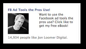 ebook facebook ad The Secret Process to Increasing Facebook Likes