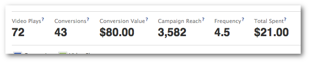 Facebook Ads Manager Conversion Value