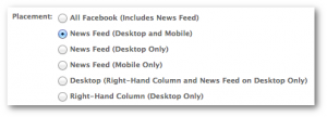 Facebook News Feed Desktop Mobile