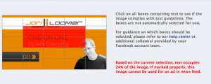 Facebook Grid Overlay Rejected