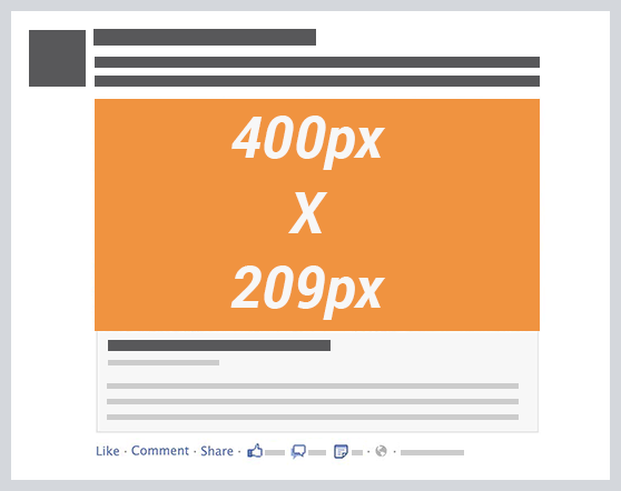 facebook link thumbnail image dimensions desktop newsfeed 14 Steps to Succeeding at Facebook Marketing