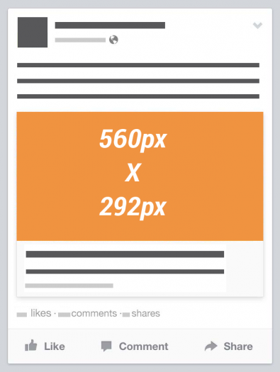 Facebook Link Thumbnail Image Dimensions Mobile