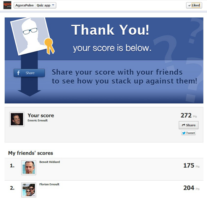 Facebook Quiz Social Context