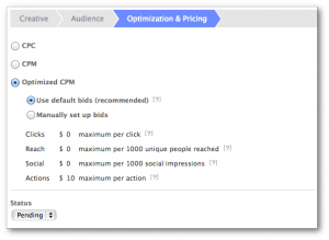 Facebook Power Editor Optimization and Pricing New