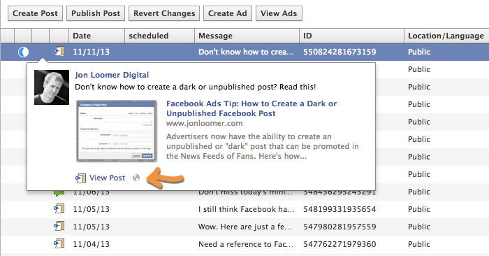 dark unpublished facebook post view comments How to View the Comments on a Dark or Unpublished Facebook Post