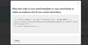 Facebook FBX Special Email Tag