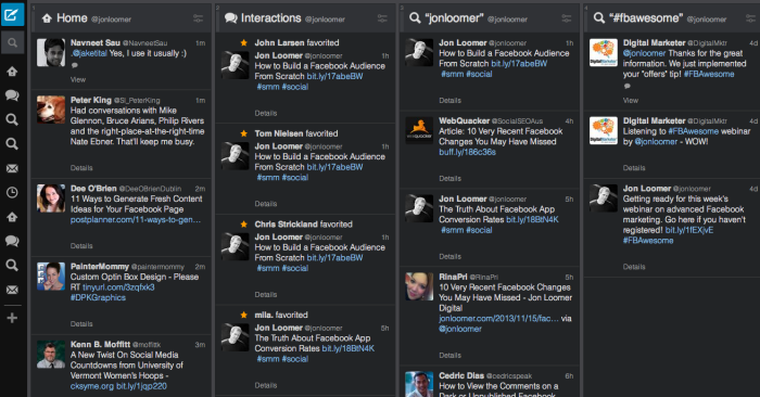 tweetdeck 700x366 Giving Thanks: 37 Best and Most Powerful Marketing Tools
