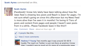 Facebook Story Bumping