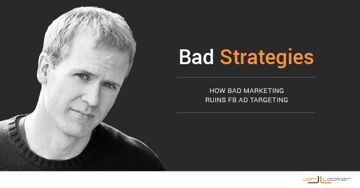 Bad Facebook Marketing Strategies