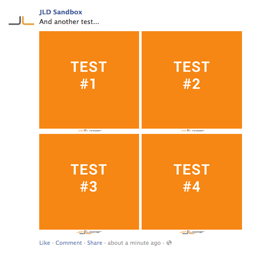 facebook page post four images trick Do Multi Image Facebook Posts Lead to Increased Reach and Engagement?