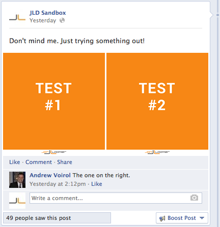 facebook page post multiple images trick 2 Do Multi Image Facebook Posts Lead to Increased Reach and Engagement?