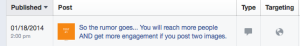 Facebook Page Post Multiple Images Trick Test