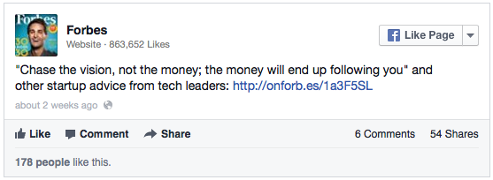 Facebook Text Update Link Forbes