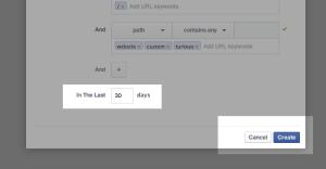 Facebook Website Custom Audiences Step 13
