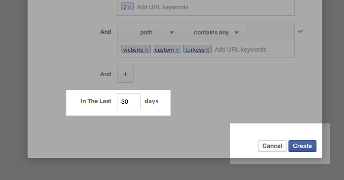 Facebook Website Custom Audiences Step 13