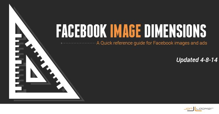 Facebook Image Dimensions Jon Loomer