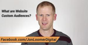 Website Custom Audiences Video by Jon Loomer