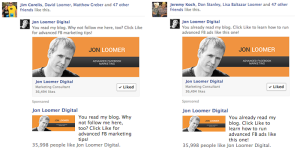 Facebook Website Custom Audiences Page Like Ads