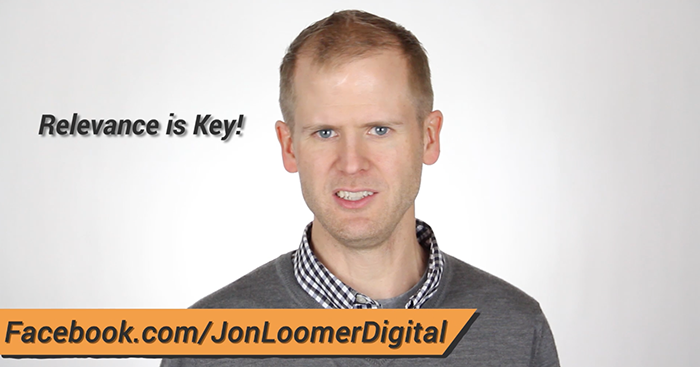 Increase Facebook Likes Ads Video Jon Loomer