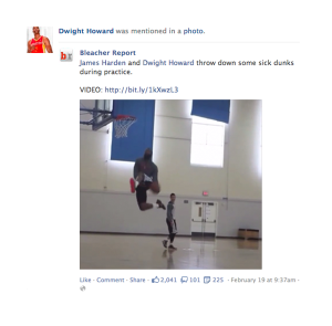 Facebook Page Tagging