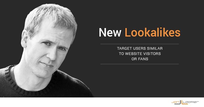 New Facebook Lookalike Audiences WCA Fans