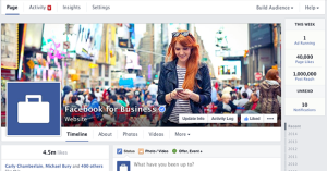 New Facebook Page Timeline Design