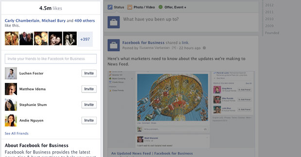 new facebook page timeline design left column Facebook Page Timeline Redesign: The One Important Change