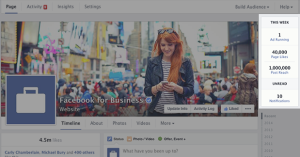 New Facebook Page Timeline Design This Week