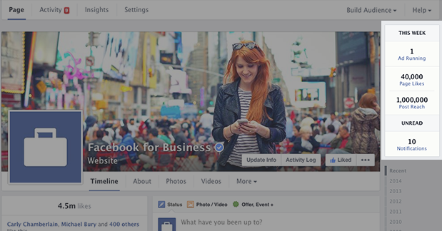 New Facebook Page Timeline Design This Week
