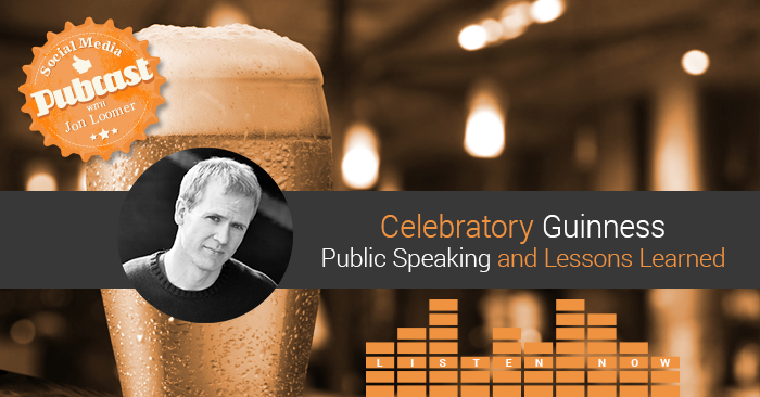 public speaking jonloomer Pop the Guinness: Lessons Learned and Reflections on Public Speaking