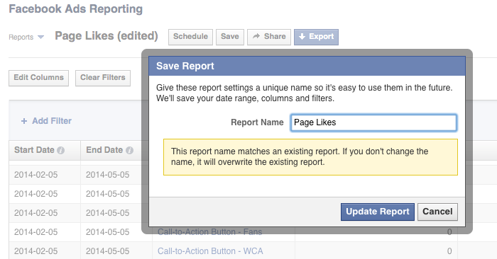 facebook ad reports save Advanced Facebook Ads: View Performance by Placement and Demographics
