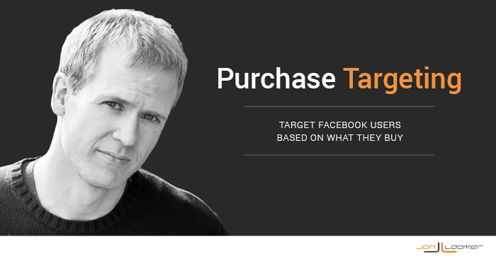 Facebook Ads Purchase Behavior Targeting