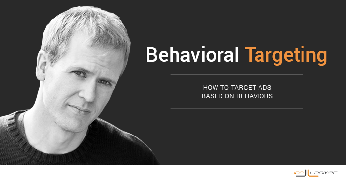 Facebook Advertising Behavioral Targeting