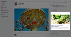 New Facebook Sidebar Ads