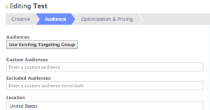 Facebook Audience Insights Ad