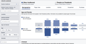 Facebook Audience Insights Find 1