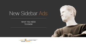 New Bigger Facebook Sidebar Right Hand Column Ads