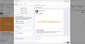 Facebook Ads Edit Creative