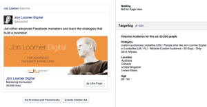 Facebook Page Like Campaign Interests Lookalikes Behaviors