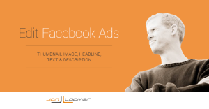 How to Edit Facebook Ads: Link Thumbnail, Headline, Text and Description