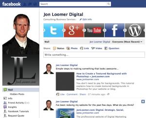 Jon Loomer Facebook Page 2011