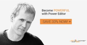 Jon Loomer Power Editor Course Save