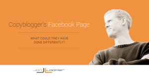 Copyblogger's Facebook Page