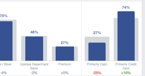 Facebook Audience Insights Spending Methods